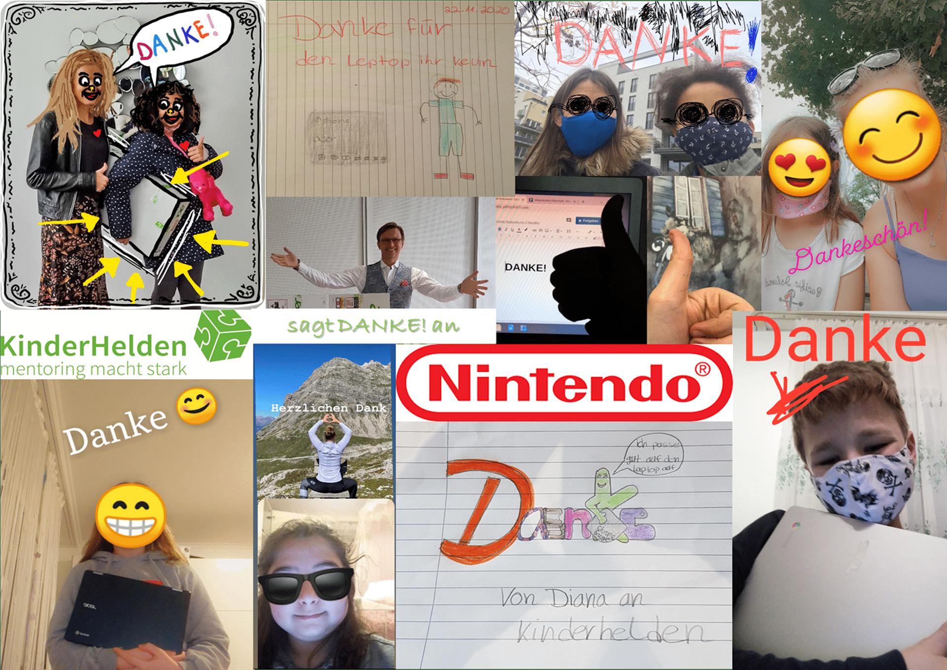 Spende Nintendo KinderHelden